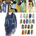 Fashion Women Girls Long Neck Large Scarves Warm Wrap Shawl Scarves Multicolor
