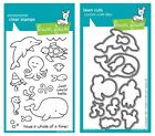 Lawn Fawn Critters in the Sea - Clear Stamp (LF311) or Craft Die (LF776)