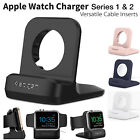 Stand Dock Charger Apple Watch Station iWatch & Night Stand Mode Fast Shipping