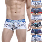 Mens Underwear Shorts Boxer Briefs Pouch Bulge Trunks Underpants Bikini S M L XL