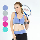 Womens Seamless Comfort Sports Stretch Yoga Crop Top Shapewear Bra Vest Support