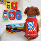 US Pet Puppy Small Dog Cat Pet Clothes Dress Vest T-Shirt Apparel Clothes