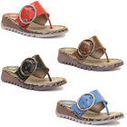 Fly London Trim Womens Leather Matt Sandals