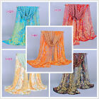 Free Shipping Long Wrap Women's Shawl Soft Chiffon Scarf Scarves Stole Scarves