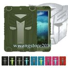 Hybrid Heavy Duty Kid Shock Proof Silicone & Plastic Rugged Case Cover for iPad