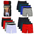 Tommy Hilfiger Boxer Briefs Mens 4 Pack Underwear Elastic Waistband Solid New