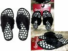 Dearfoams Fuzzy Thong Flip Flop Black White Slippers-In/Outdoor S M L XL New $24