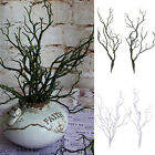 2pcs Artificial Big Plastic Dried Branches Craft Floristry Home Wedding Decor