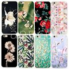 SOFT SILIKON iPHONE Motiv BLUME ROSE Flower SLIM HANDY CASE COVER Schutz HÜLLE