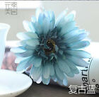 Leaves daisy flowers wedding bouquet party decorations artificial silk fake flow