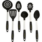 Stainless Steel  Silicone Cooking Utensil Set Kitchen Ladle Slotted Pasta Spoon