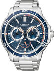 Citizen Eco-Drive 100m Gent's Sports Watch BU2040-56L