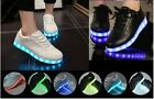 LED Light Lace Up Luminous Shoes Sportswear Sneaker Luminous Unisex Casual Shoes