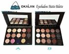 Matte Eyeshadow Palette -Okalan 15 Colors Natural Eye Shadow Palettes