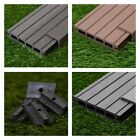 11 Square Metres of Wooden Composite Decking Inc Boards, Edging & Fixing Packs