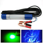 12V Green Blue Underwater LED Fishing Light Night Boat attracts fish Waterproof