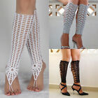 Barefoot Sandals Crochet Cotton Foot Jewelry Anklet Bracelet Ankle Chain WRXN