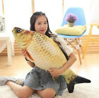 plush toy stuffed doll simulate fish Crucian carp shape pillow cushion gift 1pc