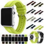 Silicone Sport Watch Band Bracelet Wristband Strap For Apple Watch Hot 38/42mm