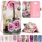 Leather Flip Stand Wallet Cards Patterned Case Cover For  LG X5 V10/Lenovo A6000