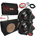 "Boss Audio Phantom Twin 10"" Bass Package Deal 5000W Car Sub & Amp Package"