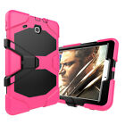 Hybrid Heavy Duty Hard Stand Tablet Case Cover For Samsung Galaxy Tab E 8.0 /9.6