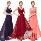 Ever-Pretty Long Bridesmaid Dresses Summer Beach Chiffon Prom Gown 09983