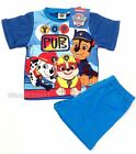 Boys Paw patrol short, shortie pyjamas - Ages 18mths - 5 yrs