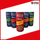 NOCCO BCAA Drink with Cafein NO CARBS Comp Sugar Free Various Flavour *offer*