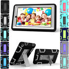 Stand Shockproof Heavy Rugged Hard Case Cover For Amazon Kindle Fire 7 HD 8 2016