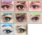 FRESHTONE VIBRANT COLORED CONTACT CIRCLE LENSES BIG DOLLY EYES LIFE SPAN :YEARLY