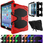 Shockproof Rugged Stand Cover Case Built-in Screen Protector For iPad 2 3 4 9.7'