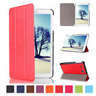 Folio PU Leather Smart Cover Case Stand For Samsung Galaxy Tab A 8.0 T350 Tablet