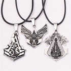 NEW Assasins Creed Connor Amulet Gear Choker Necklace Pendant for Fans Collect