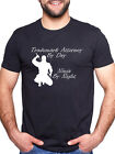 TRADEMARK ATTORNEY BY DAY NINJA BY NIGHT PERSONALISED T SHIRT