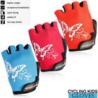 Kids Cycling Gloves BMX Scooter Half Finger Child Outdoor Riding Sports Gloves