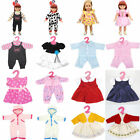 Cute Clothes Dress Skirt Pajamas for 18inch American girl doll children gift