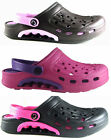 WOMENS CLOGS HOSPITAL,GARDEN,CATERING NURSES,BEACH SLIP ON COOLER SIZE 4 - 8