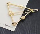 Women Geometric Hair Clips Barrettes Pins Clip Fastening Elegant Accessories