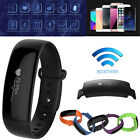 Sport Blood Pressure Monitor Heart Rate Fitness Smart Watch Bracelet Wrist Band