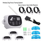 Wireless Pet Containment System Dog Fence No-Wire Rechargeable &Waterproof 1/2/3