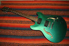 Ibanez Artcore AS73B Semi-Hollow Body Electric Guitar Green Body