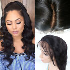 Glueless Lace Front Wigs Malaysian Virgin Silk Top Human Hair Full Lace Wig Hot