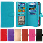 For ZTE Zmax Pro Carry Z981 Flap Card Slot Holder Leather Wallet Cover Case