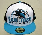 Men's New Era NHL San Jose Sharks 59FIFTY Fitted Cap Hat