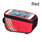 Waterproof Touch Screen Bicycle Frame Front Tube Mobile Phone Bags Phone Holder