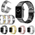 New Stainless Steel Wrist Bracelet Clasp iWatch Band for Apple Watch 38mm/42mm image
