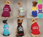 CLOSEOUT Dog Tee T-Shirt Tank Tops Pet  Casual Canine Zack Zoey