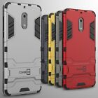 For Nokia 6 Case Hard Kickstand Protective Shockproof Slim Phone Cover