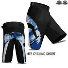 MTB Cycling Short Off Road Downhill Unisex Camo Design Mountain, Horse Riding